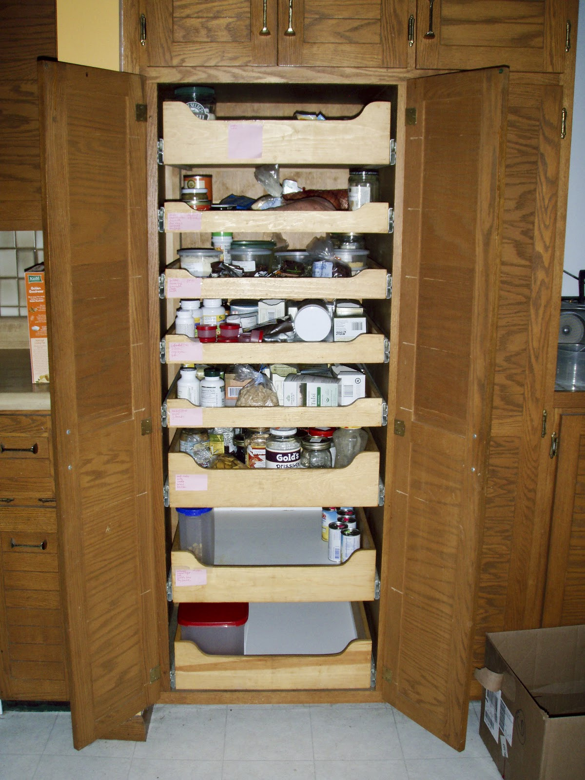 Best ideas about Pull Out Shelves For Pantry . Save or Pin Pull Out Shelves Now.