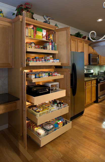 Best ideas about Pull Out Shelves For Pantry . Save or Pin Pantry Pull Out Shelves Kitchen other metro by Now.