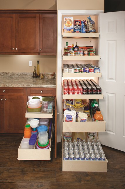 Best ideas about Pull Out Shelves For Pantry . Save or Pin Pull Out Pantry Shelves Contemporary other metro by Now.