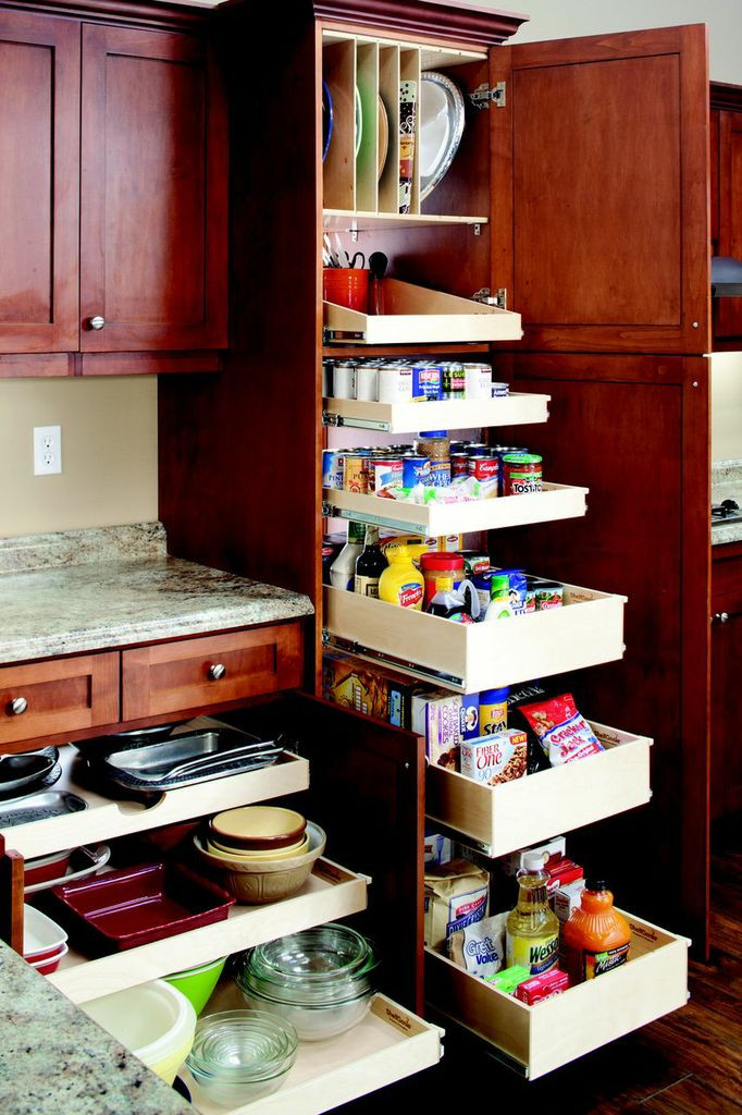 Best ideas about Pull Out Shelves For Pantry . Save or Pin Custom Designed Full Extension Roll Out Pantry Shelves for Now.