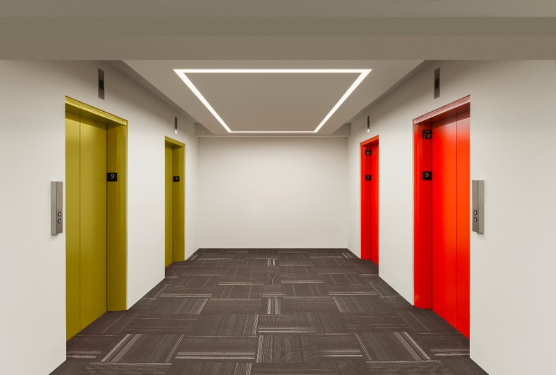 Best ideas about Pure Edge Lighting . Save or Pin PureEdge Lighting the merchandise mart elevator bay Now.