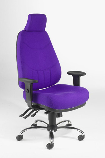 Best ideas about Purple Office Chair . Save or Pin fice Chair Purple Now.