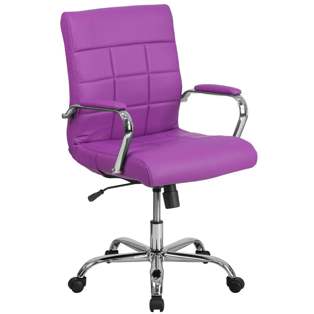 Best ideas about Purple Office Chair . Save or Pin Flash Furniture Purple fice Desk Chair GO2240PUR The Now.