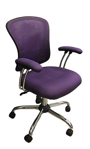 Best ideas about Purple Office Chair . Save or Pin Take a Seat Find the Right Desk Chair for You Now.
