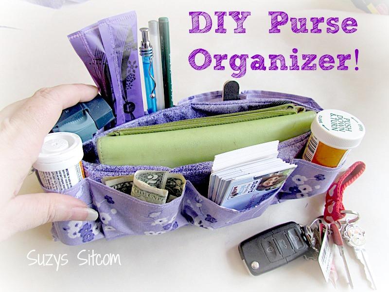 Best ideas about Purse Organizer DIY . Save or Pin Easy to make DIY Purse Organizer Now.