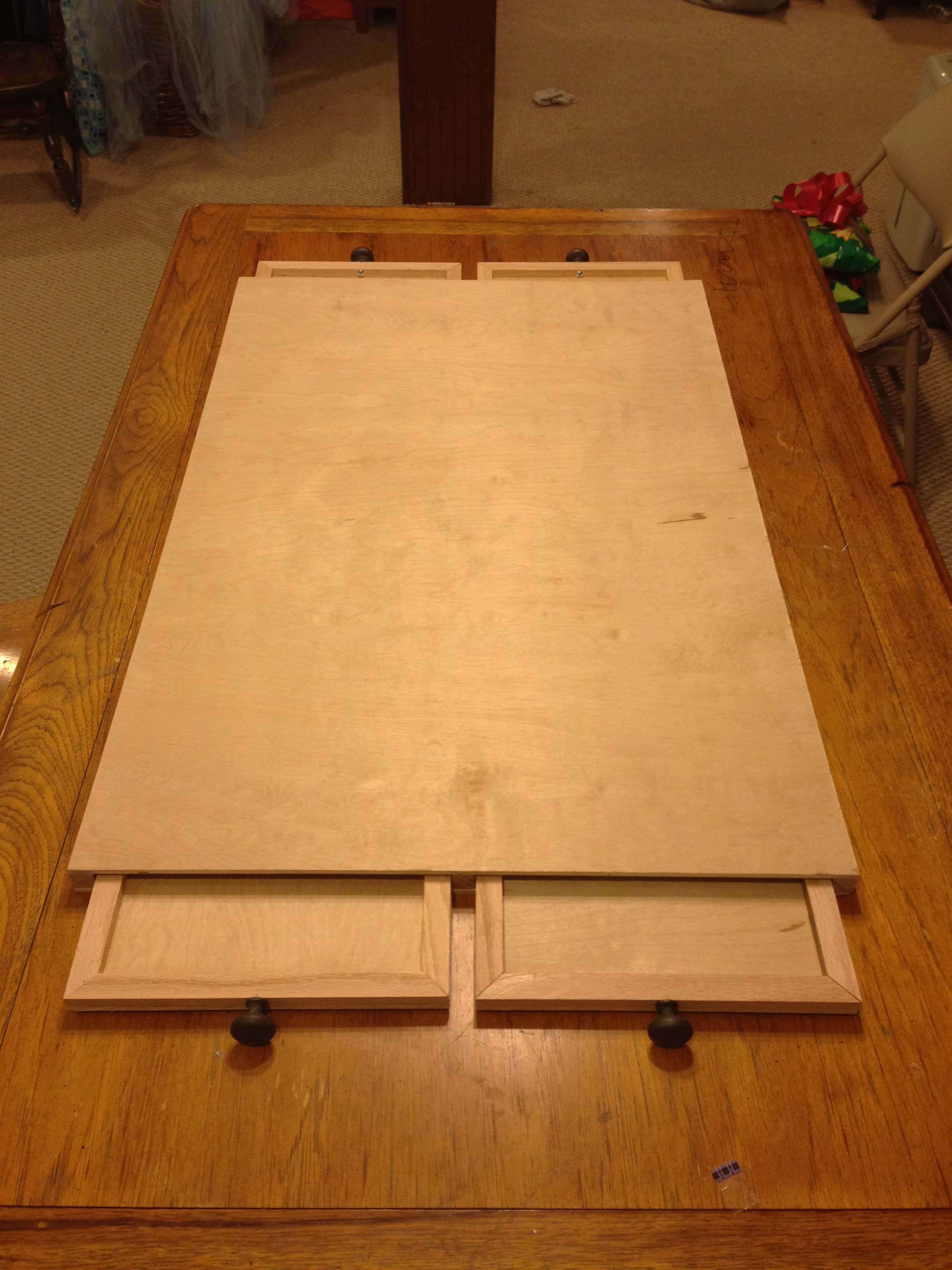 Best ideas about Puzzle Table DIY . Save or Pin The Ultimate Puzzle Board with Drawers Now.