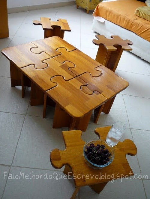Best ideas about Puzzle Table DIY . Save or Pin Creative Jigsaw Puzzle Decor Ideas That Will Steal The Show Now.