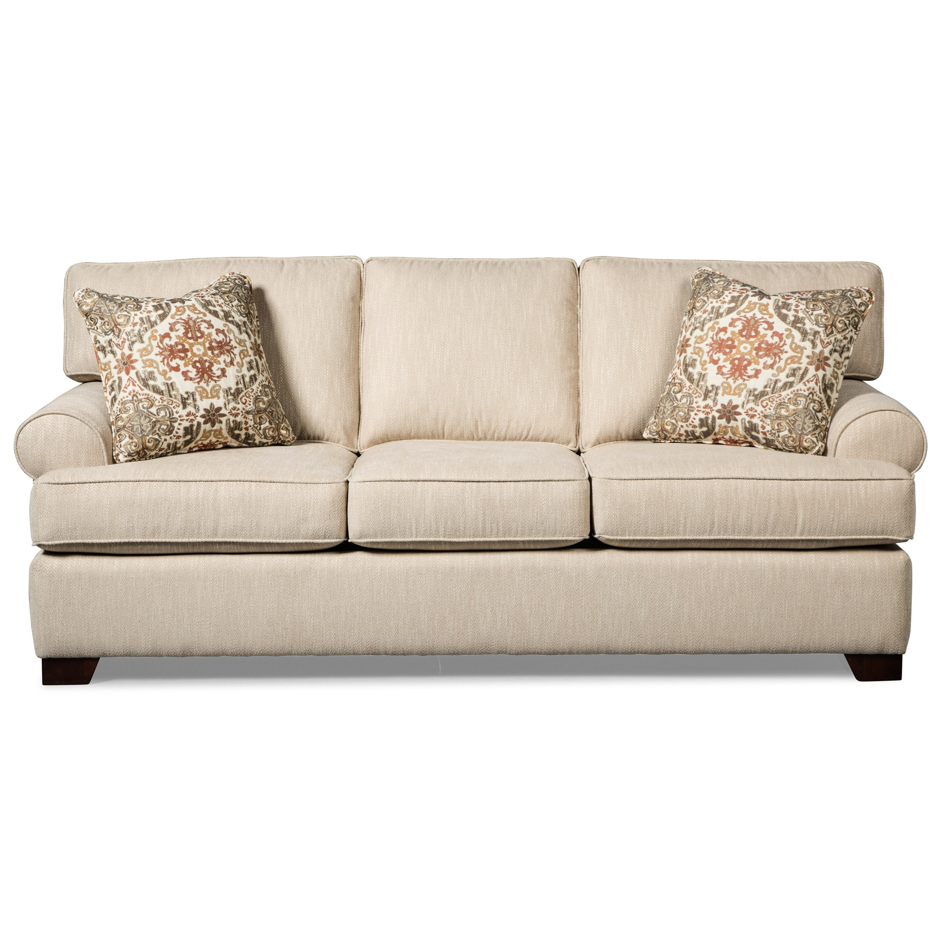 Best ideas about Queen Sleeper Sofa Mattress . Save or Pin Casual Queen Sleeper Sofa with Rolled Arms and Memory Foam Now.
