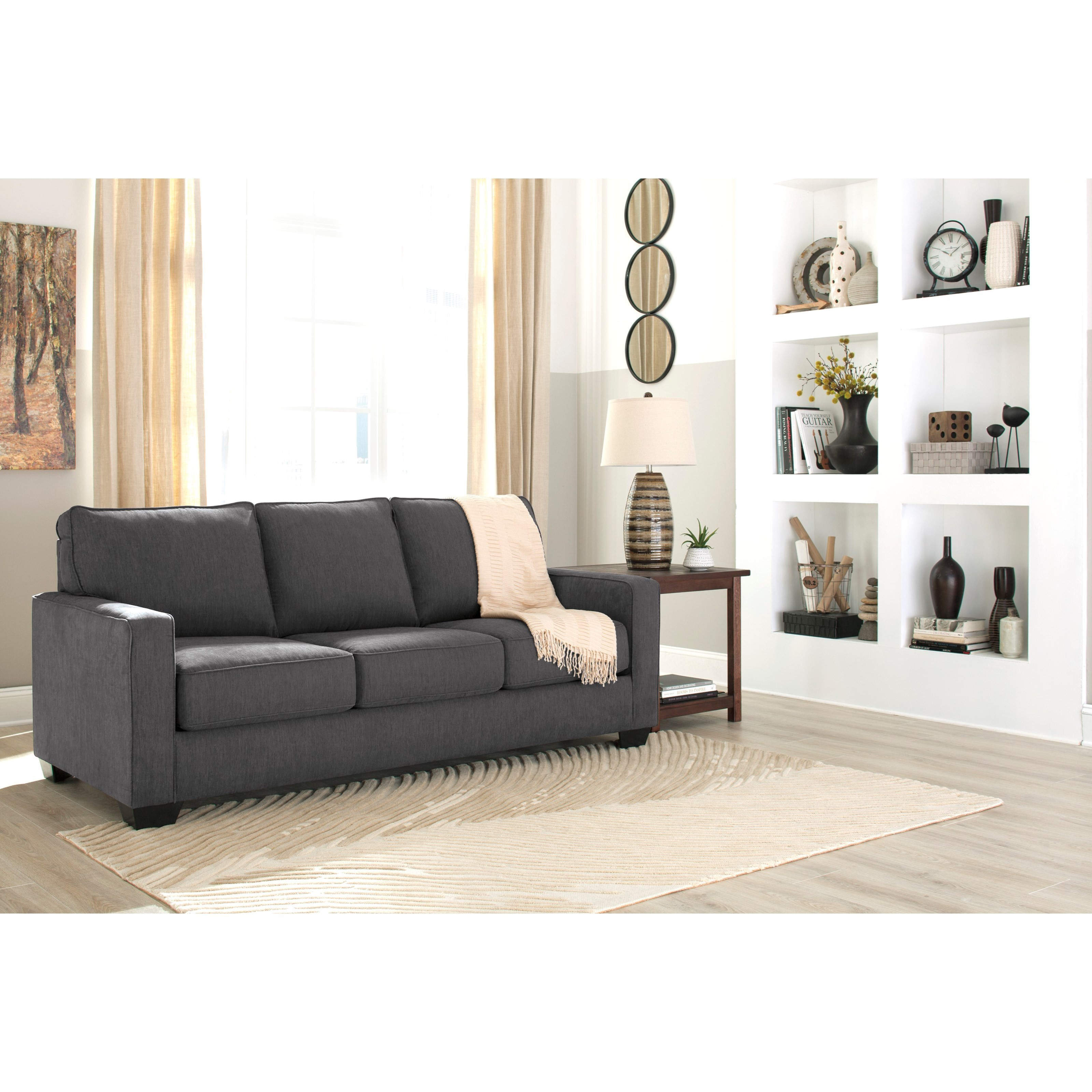 Best ideas about Queen Sleeper Sofa Mattress . Save or Pin Queen Sofa Sleeper with Memory Foam Mattress by Signature Now.