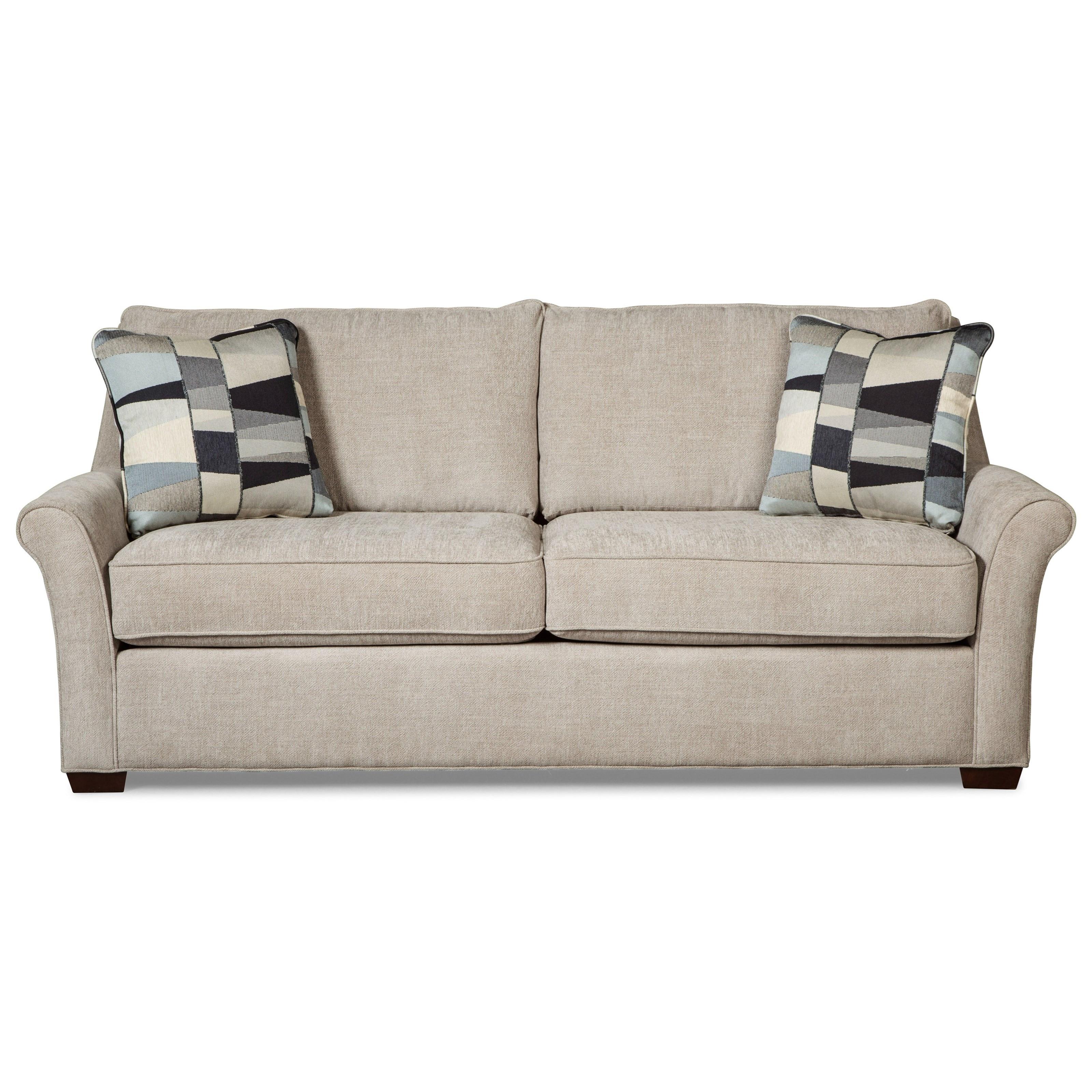 Best ideas about Queen Sleeper Sofa Mattress . Save or Pin Transitional Queen Sleeper Sofa with Memory Foam Mattress Now.