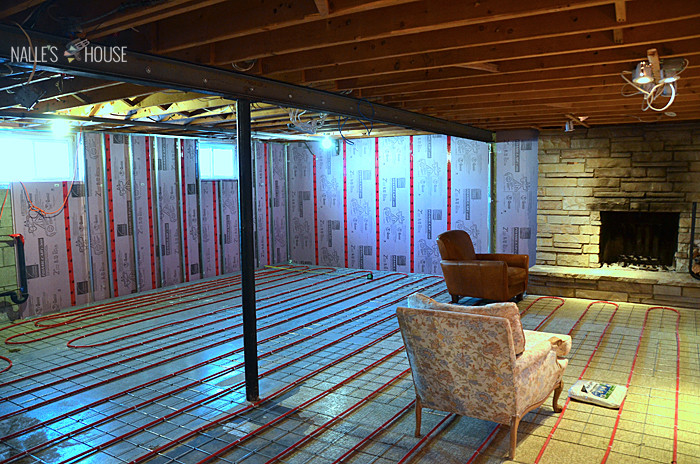 Best ideas about Radiant Floor Heating DIY . Save or Pin Nalle s House February 2014 Now.