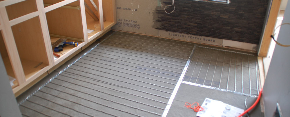 Best ideas about Radiant Floor Heating DIY . Save or Pin Tile 101 How To Install SunTouch WarmWire Radiant Floor Now.
