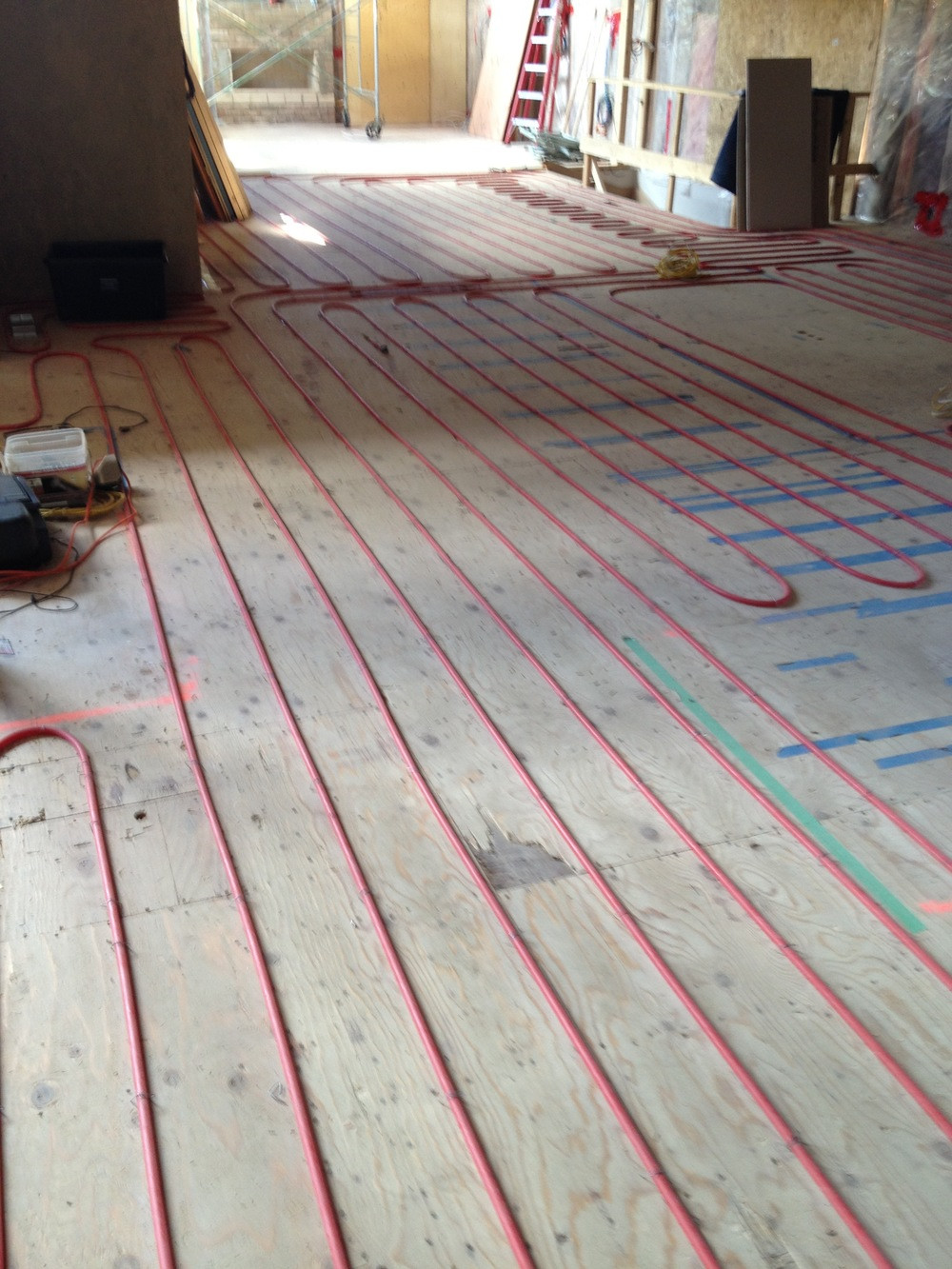 Best ideas about Radiant Floor Heating DIY . Save or Pin Heated Floors Installing Hydronic Radiant Floor Heating Now.