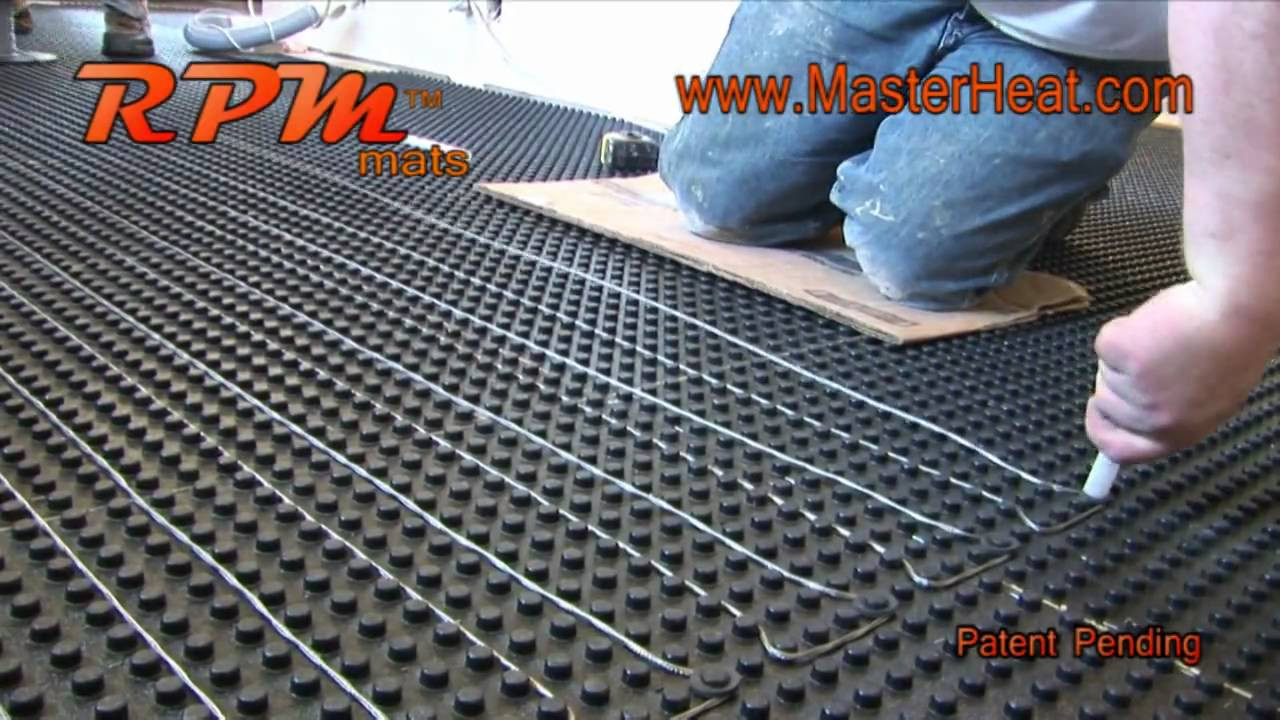 Best ideas about Radiant Floor Heating DIY . Save or Pin in floor heating Radiant Heating RPM DO IT YOURSELF Now.