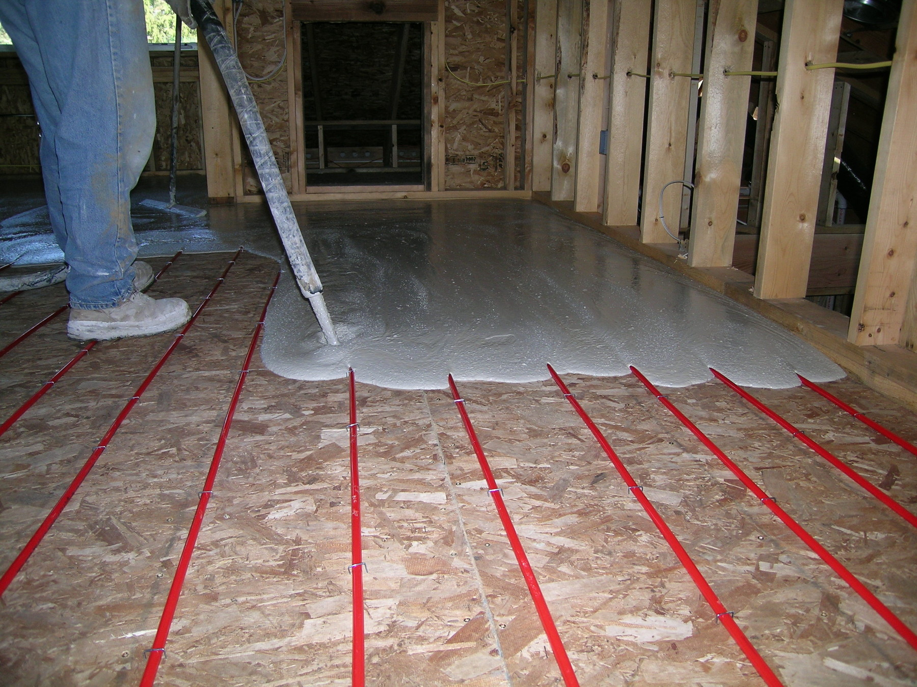 Best ideas about Radiant Floor Heating DIY . Save or Pin DIY Radiant Heat Installing A Radiant Heat System Stained Now.