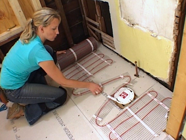 Best ideas about Radiant Floor Heating DIY . Save or Pin How to Install a Radiant Heat System Underneath Flooring Now.