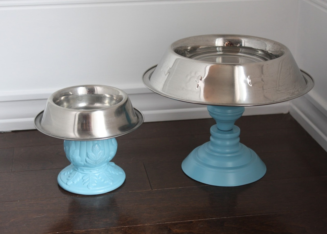 Best ideas about Raised Dog Bowls DIY . Save or Pin DIzzYmaiden s Foo s & Craftsters truebluemeandyou DIY Now.