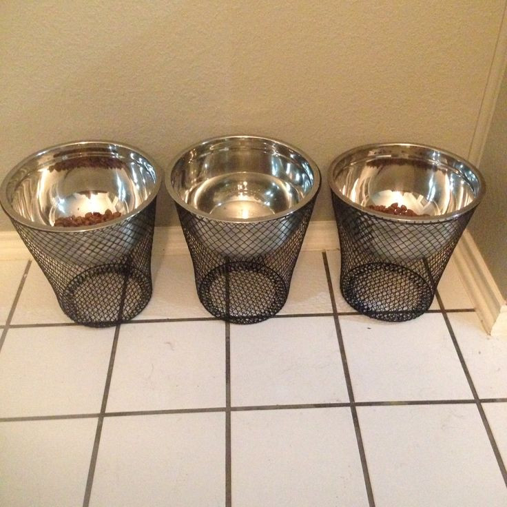 Best ideas about Raised Dog Bowls DIY . Save or Pin Best 25 Dog feeding station ideas on Pinterest Now.