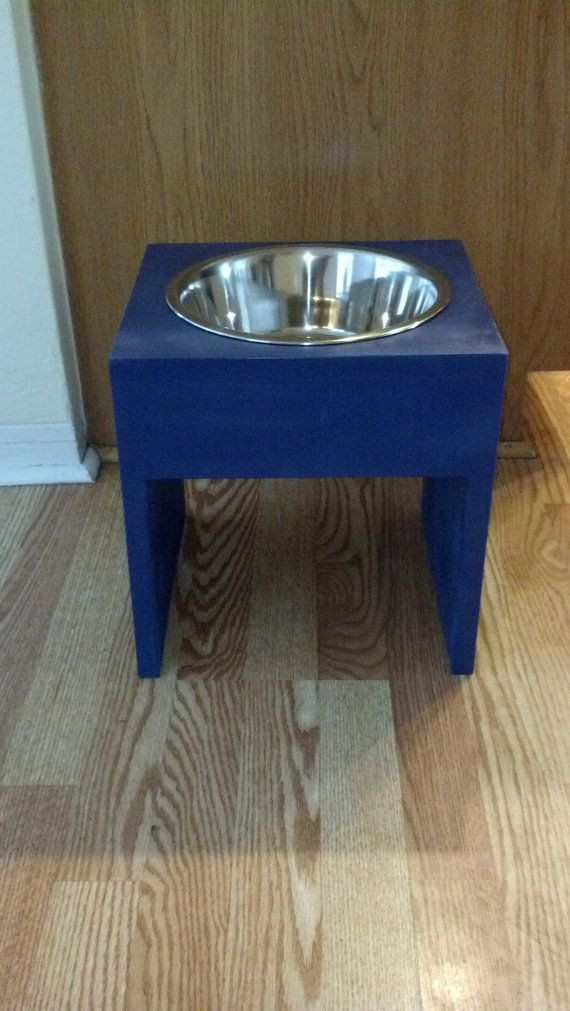 Best ideas about Raised Dog Bowls DIY . Save or Pin 1000 images about Elevated dog bowls on Pinterest Now.