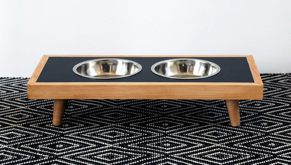 Best ideas about Raised Dog Bowls DIY . Save or Pin How to Make a DIY Modern Raised Dog Bowl Curbly Now.