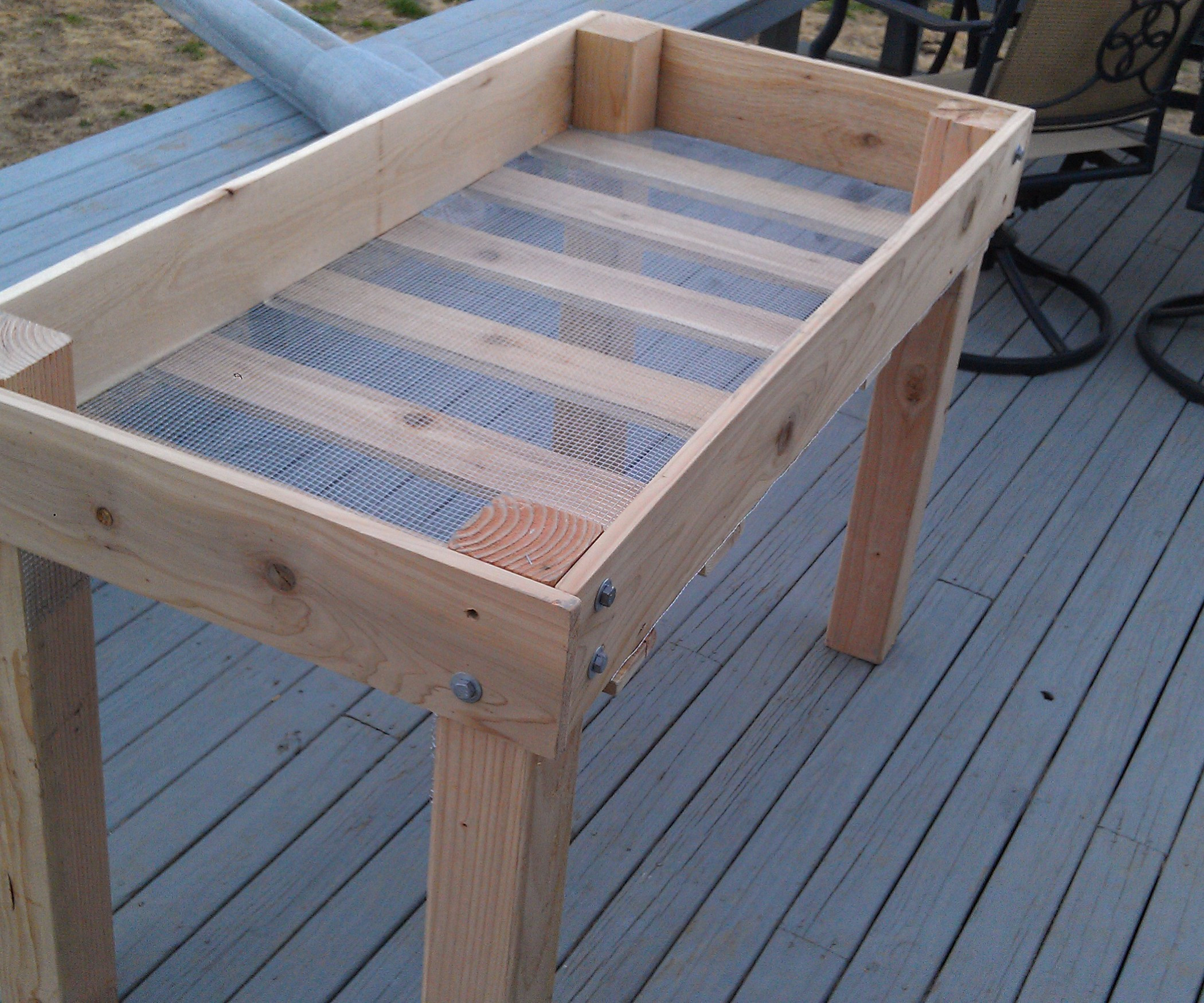 Best ideas about Raised Garden Planters . Save or Pin DIY Raised Bed Planter 16 Steps with Now.