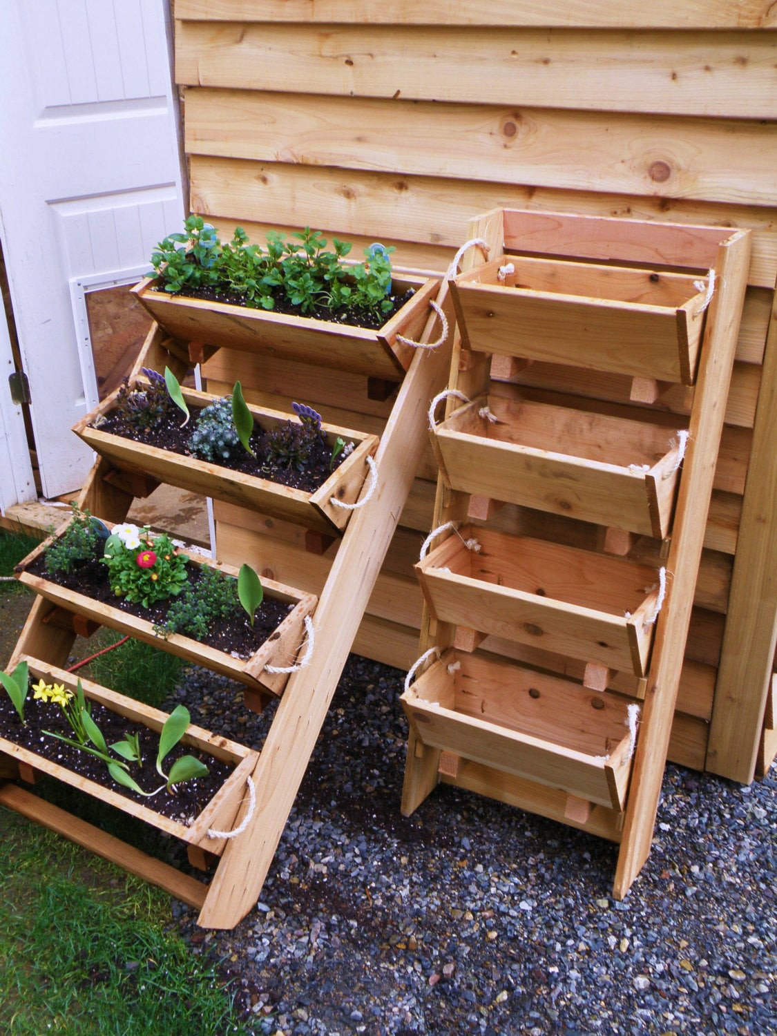 Best ideas about Raised Garden Planters . Save or Pin large gardening planters raised bed gardening by Roped Cedar Now.