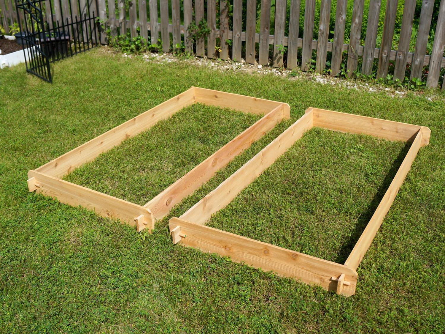 Best ideas about Raised Garden Planters . Save or Pin Raised Garden Planter Bed Flower Box Cedar and similar items Now.