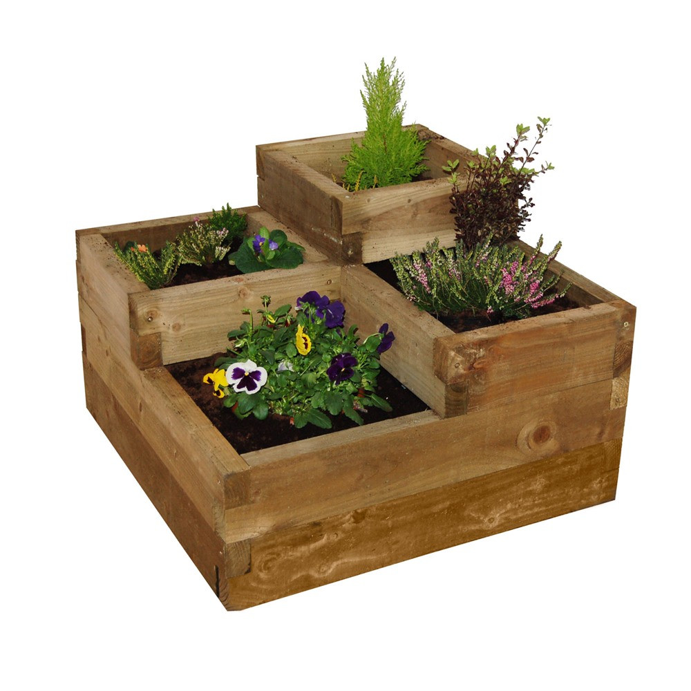 Best ideas about Raised Garden Planters . Save or Pin Forest Garden Caledonian Tiered Raised Planter Now.