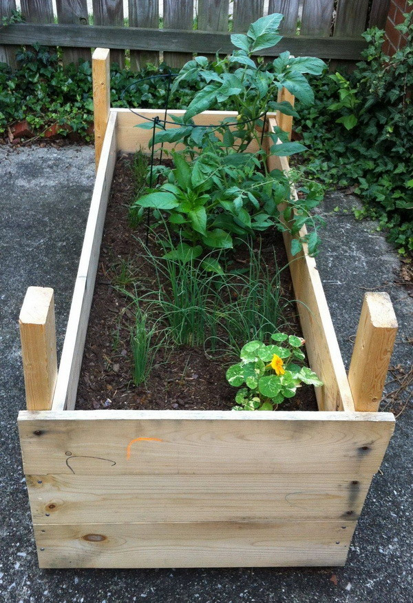 Best ideas about Raised Garden Planters . Save or Pin How To Build a Raised Planter Bed for Under $50 For Your Now.