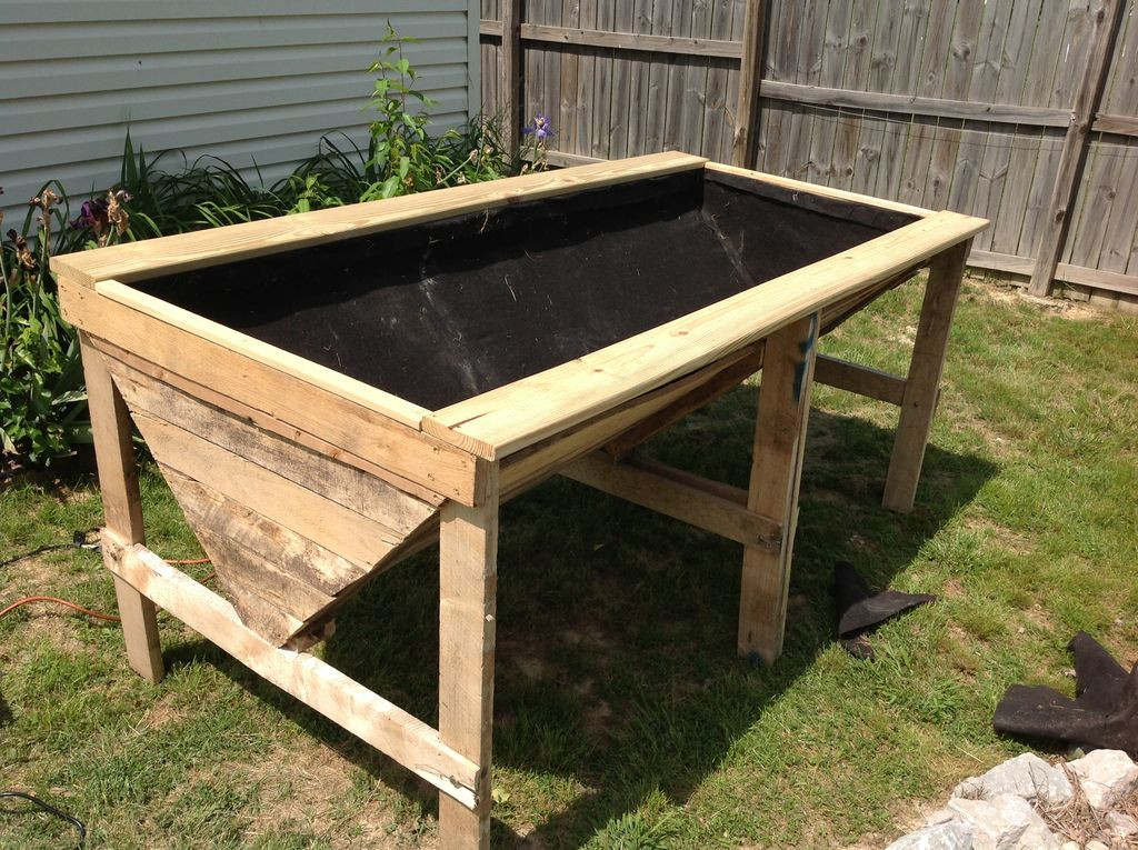 Best ideas about Raised Garden Planters . Save or Pin Raised Planter Bed from Pallets Now.