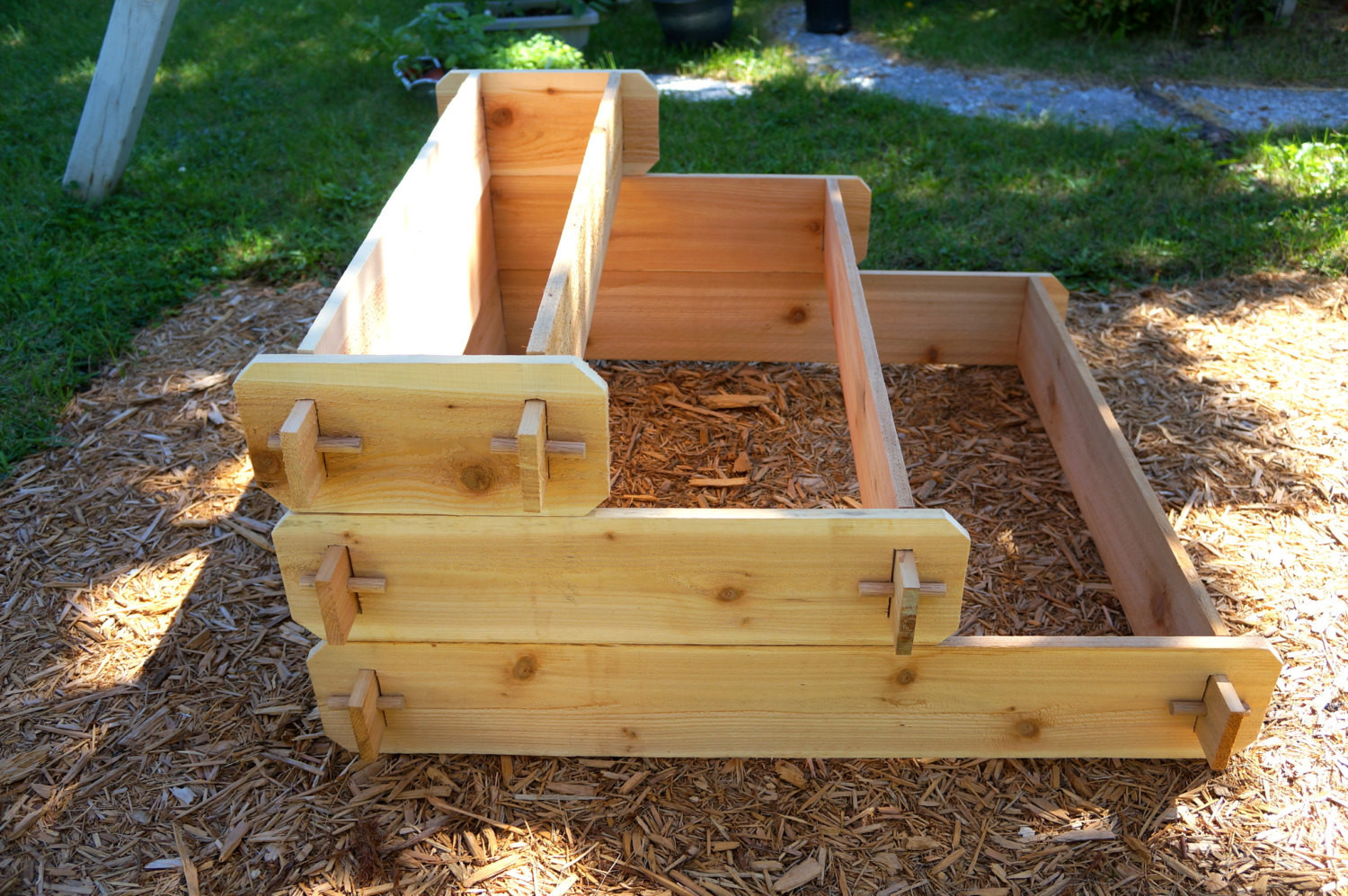 Best ideas about Raised Garden Planters . Save or Pin Raised Bed Patio Garden Planter Flower Box Herb Elevated Now.
