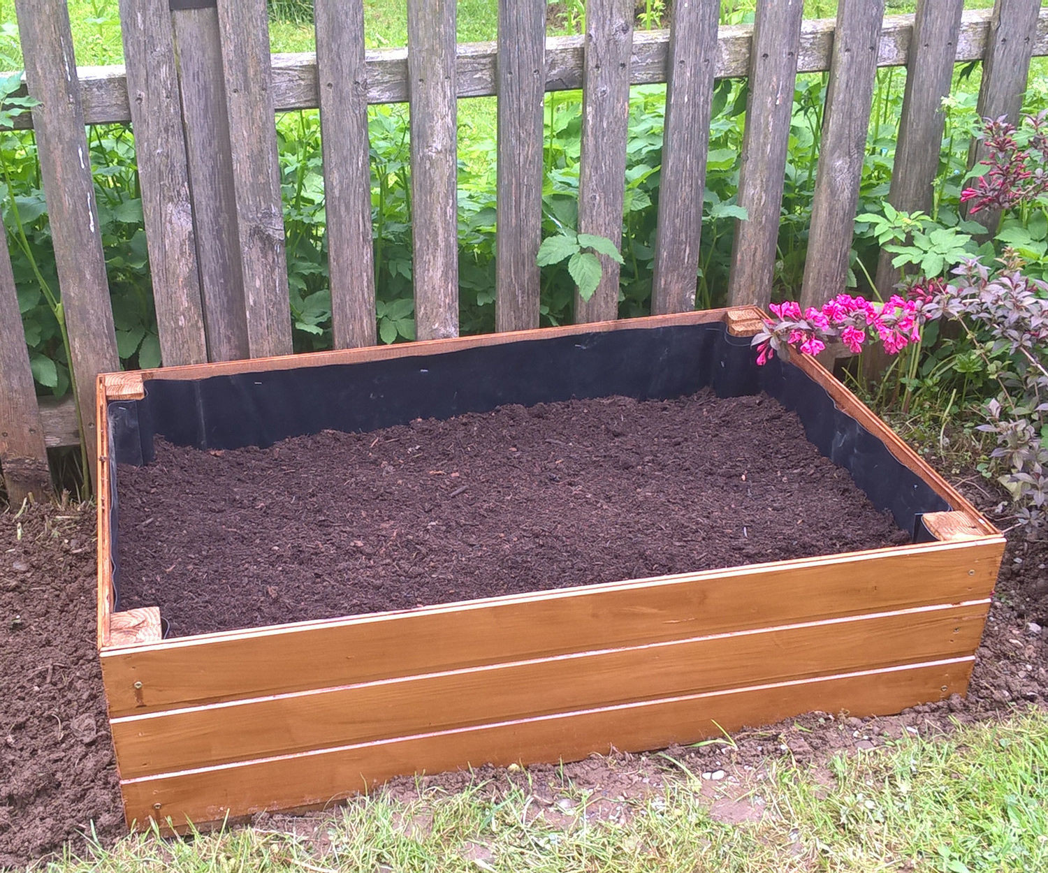 Best ideas about Raised Garden Planters . Save or Pin Wooden Raised Bed Garden Planter 5 Now.