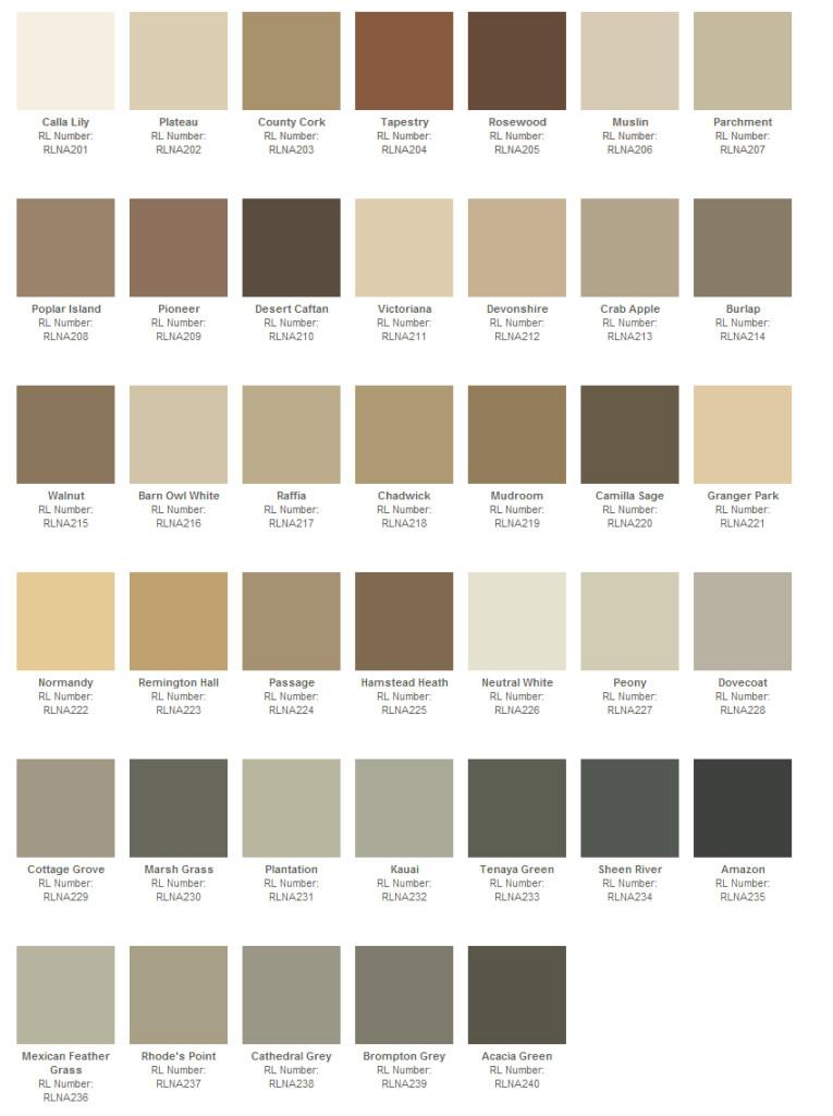 Best ideas about Ralph Lauren Paint Colors . Save or Pin Ralph Lauren Paint Collection Naturals Now.
