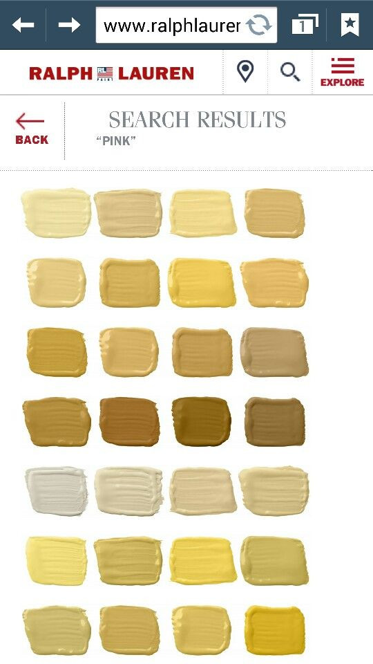 Best ideas about Ralph Lauren Paint Colors . Save or Pin Ralph Lauren paint colors Yellows & Golden Now.