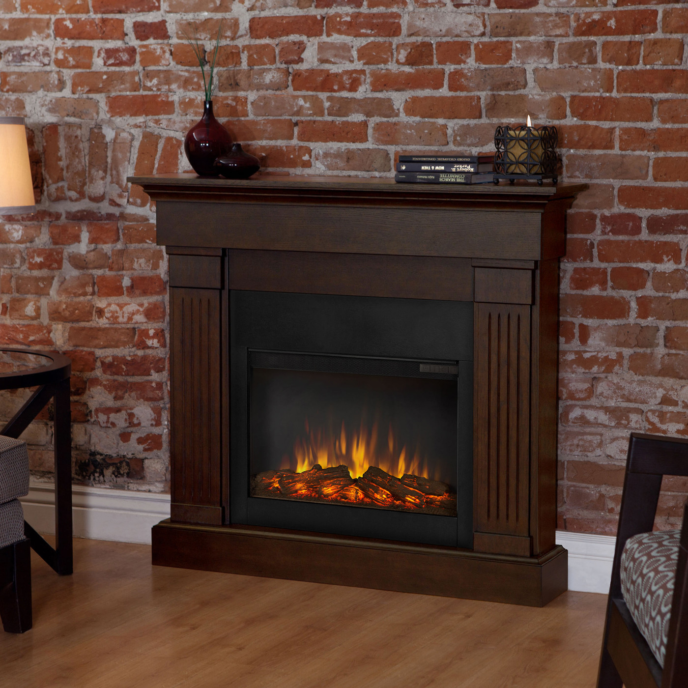 Best ideas about Real Flame Electric Fireplace . Save or Pin Real Flame 8020E Crawford Indoor Electric Fireplace Now.