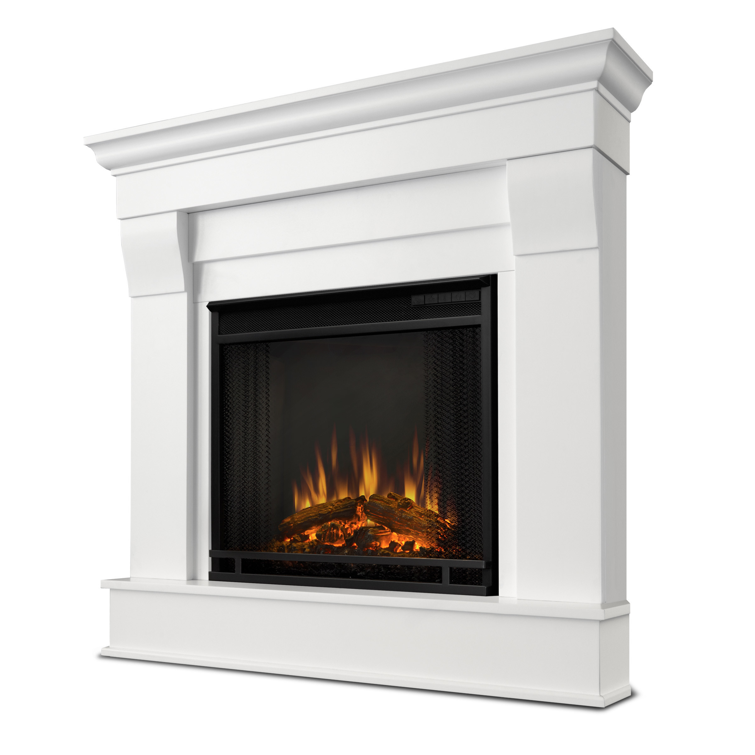 Best ideas about Real Flame Electric Fireplace . Save or Pin Real Flame Chateau Corner Electric Fireplace & Reviews Now.