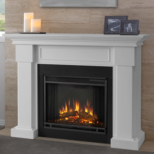 Best ideas about Real Flame Electric Fireplace . Save or Pin Real Flame Frederick Entertainment Center with Electric Now.