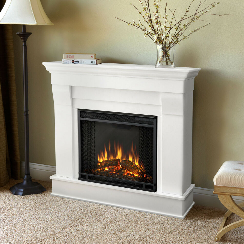 Best ideas about Real Flame Electric Fireplace . Save or Pin Real Flame White Chateau Electric Fireplace Now.