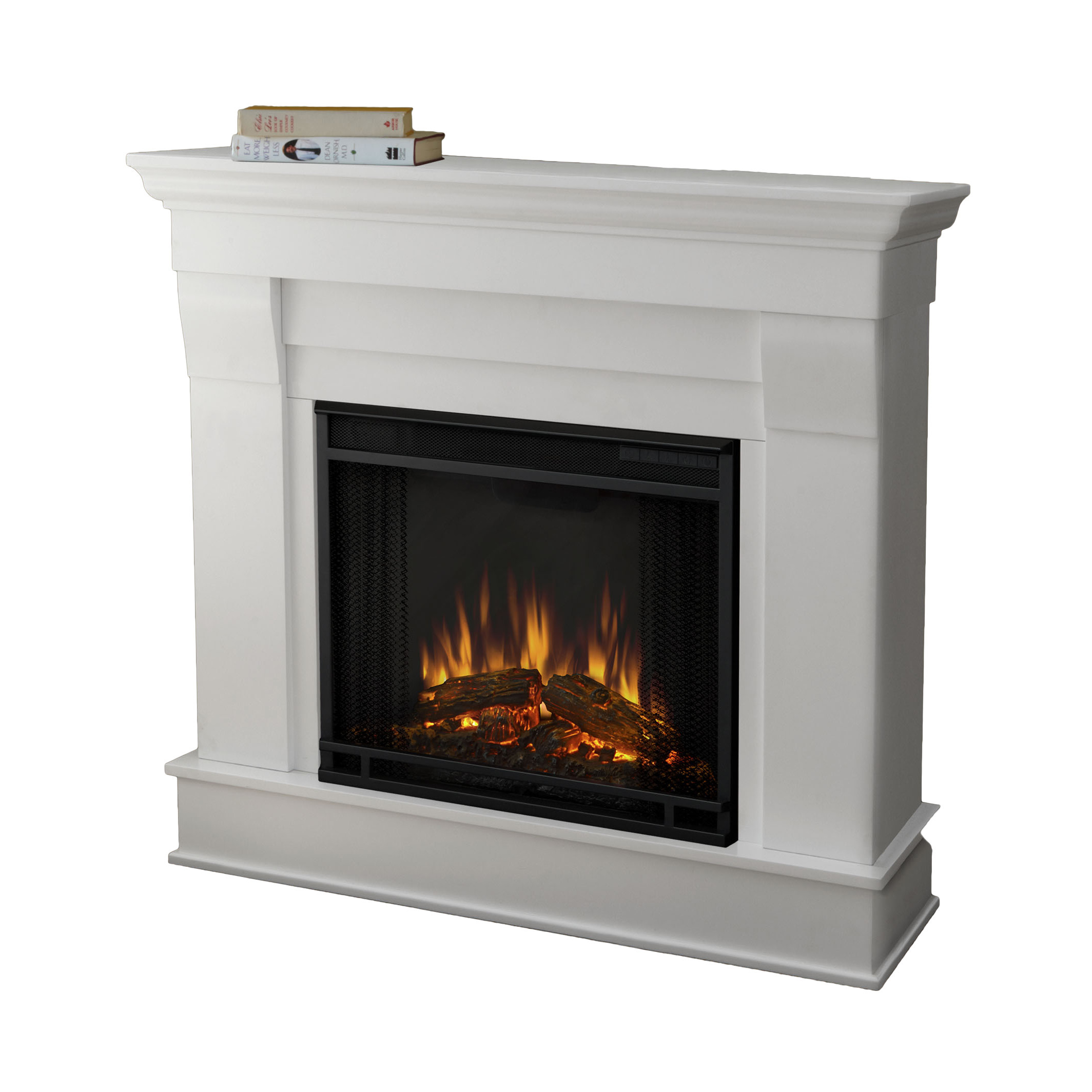 Best ideas about Real Flame Electric Fireplace . Save or Pin Real Flame Chateau Electric Fireplace & Reviews Now.