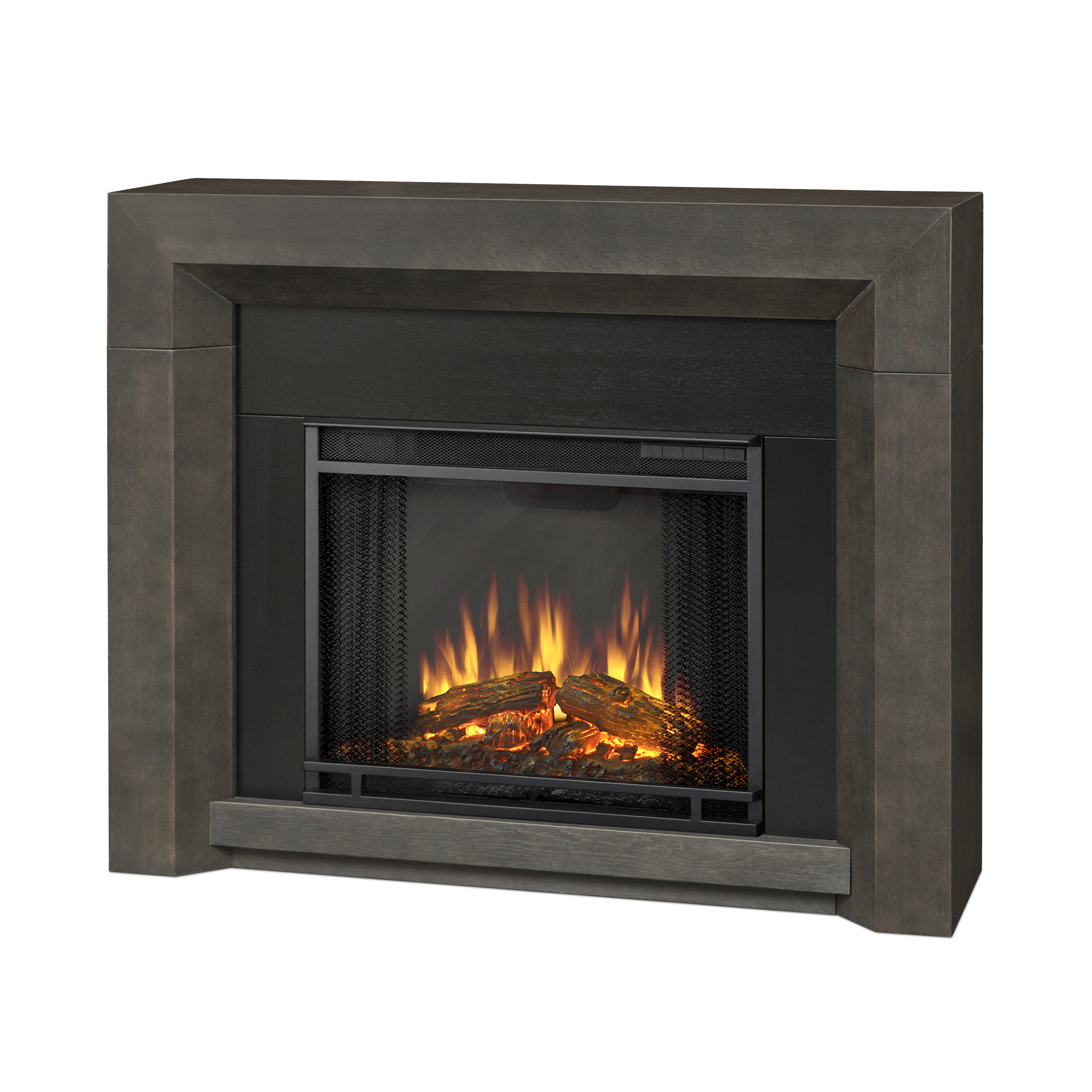 Best ideas about Real Flame Electric Fireplace . Save or Pin Real Flame Hughes Electric Fireplace Now.