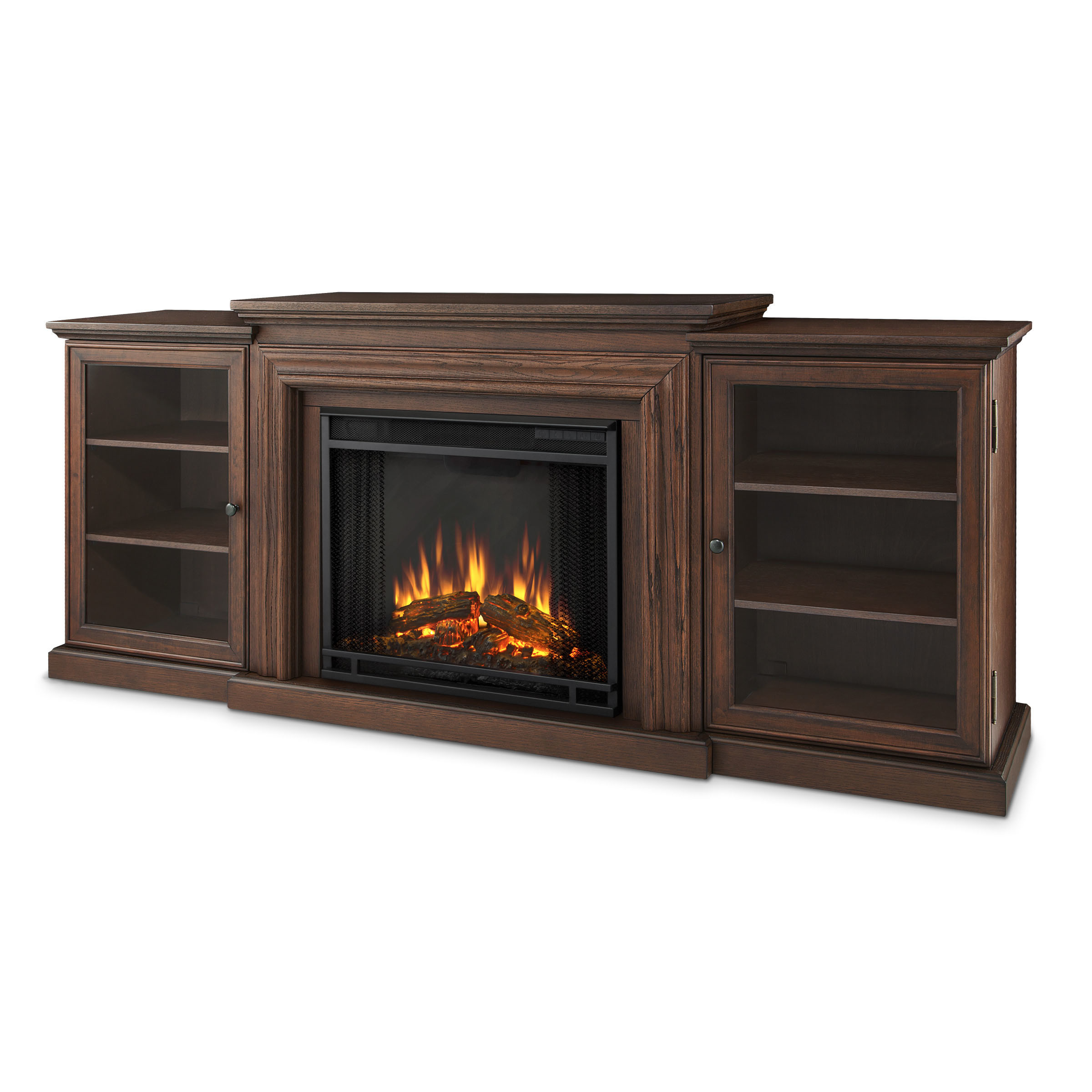 Best ideas about Real Flame Electric Fireplace . Save or Pin Real Flame Frederick TV Stand with Electric Fireplace Now.