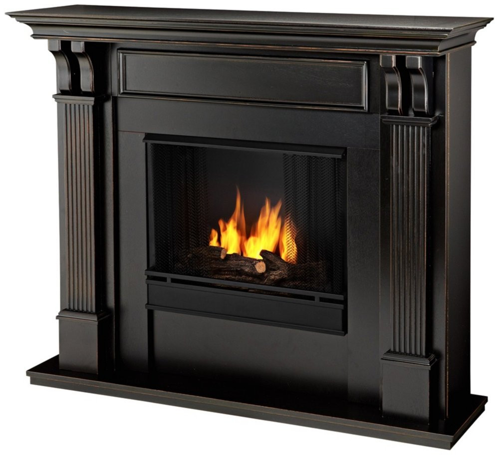 Best ideas about Real Flame Fireplace . Save or Pin Black Ashley Real Flame Gel Fireplace Ventless Fireplace Now.