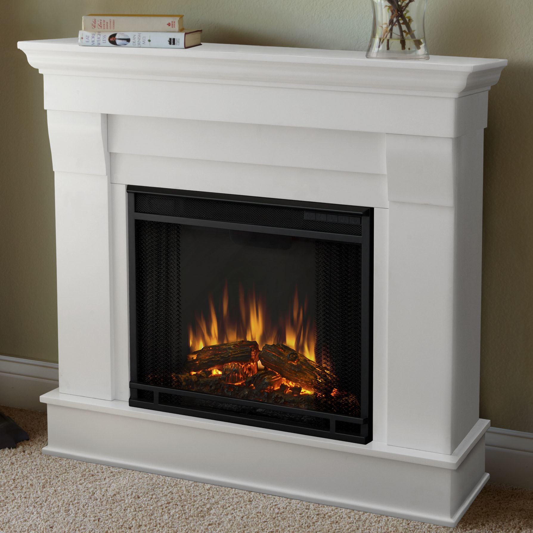 Best ideas about Real Flame Fireplace . Save or Pin Real Flame Chateau Electric Fireplace & Reviews Now.