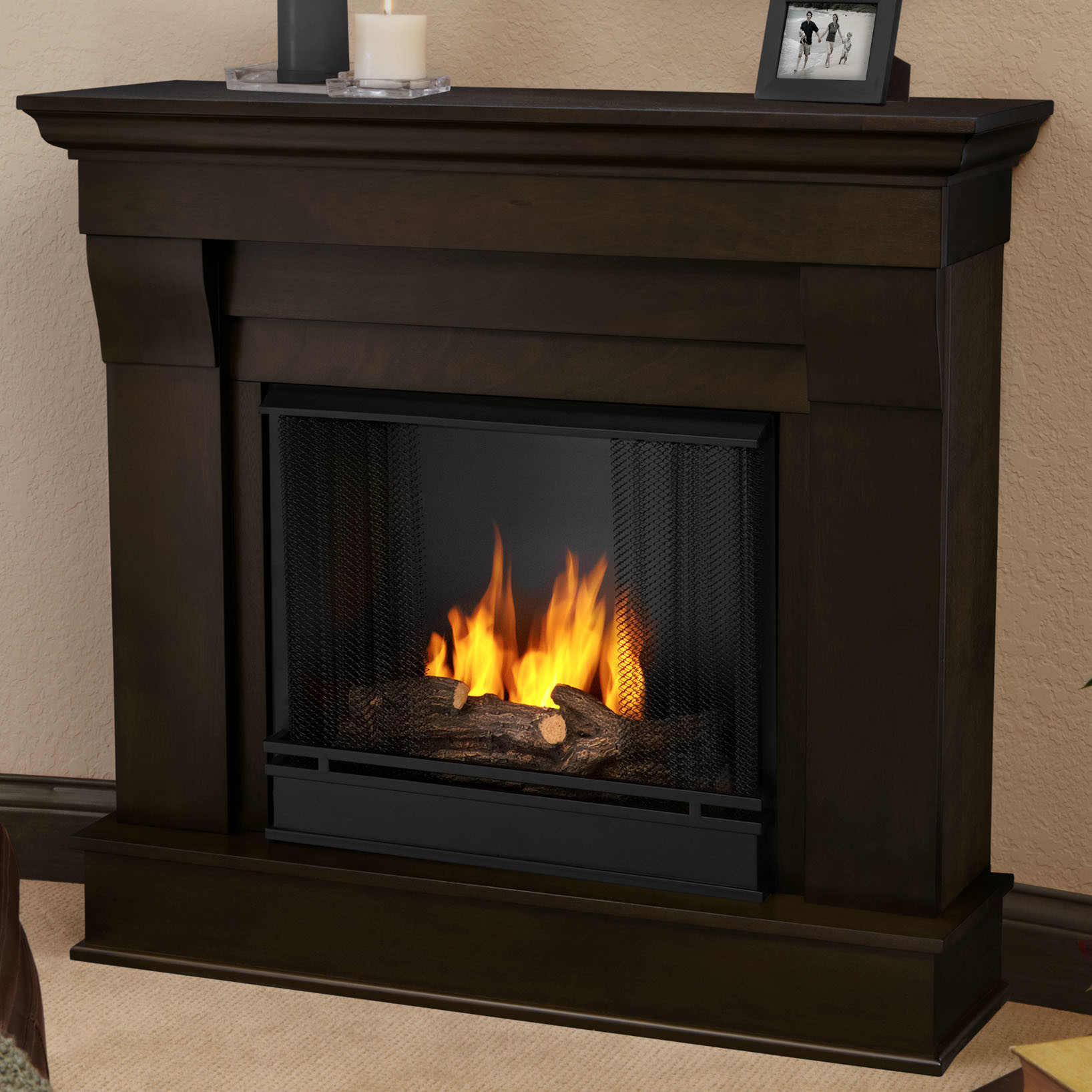 Best ideas about Real Flame Fireplace . Save or Pin Real Flame Chateau Gel Fuel Fireplace & Reviews Now.