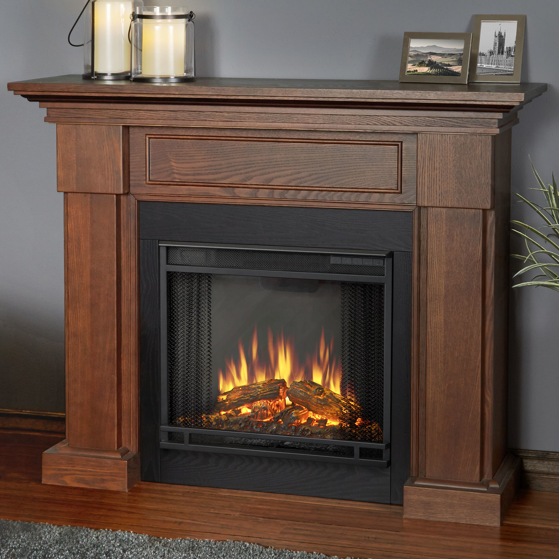 Best ideas about Real Flame Fireplace . Save or Pin Real Flame Hillcrest Electric Fireplace & Reviews Now.
