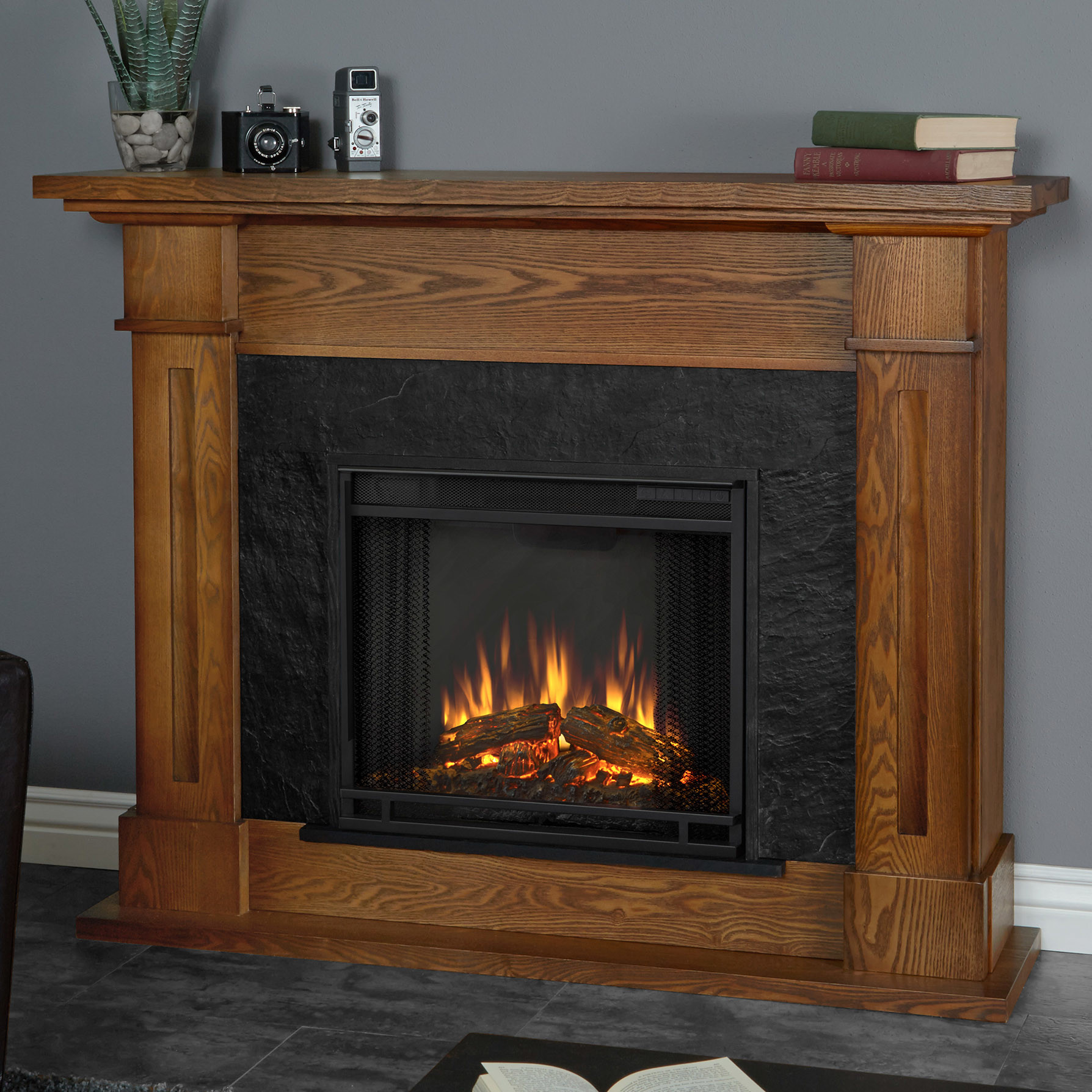 Best ideas about Real Flame Fireplace . Save or Pin Real Flame Kipling Electric Fireplace & Reviews Now.