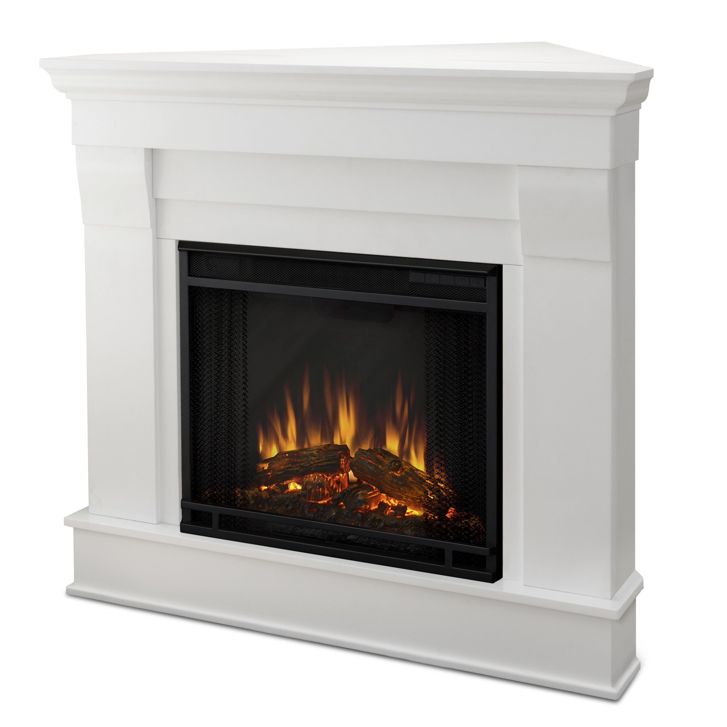 Best ideas about Real Flame Fireplace . Save or Pin Real Flame Chateau Corner Electric Fireplace & Reviews Now.