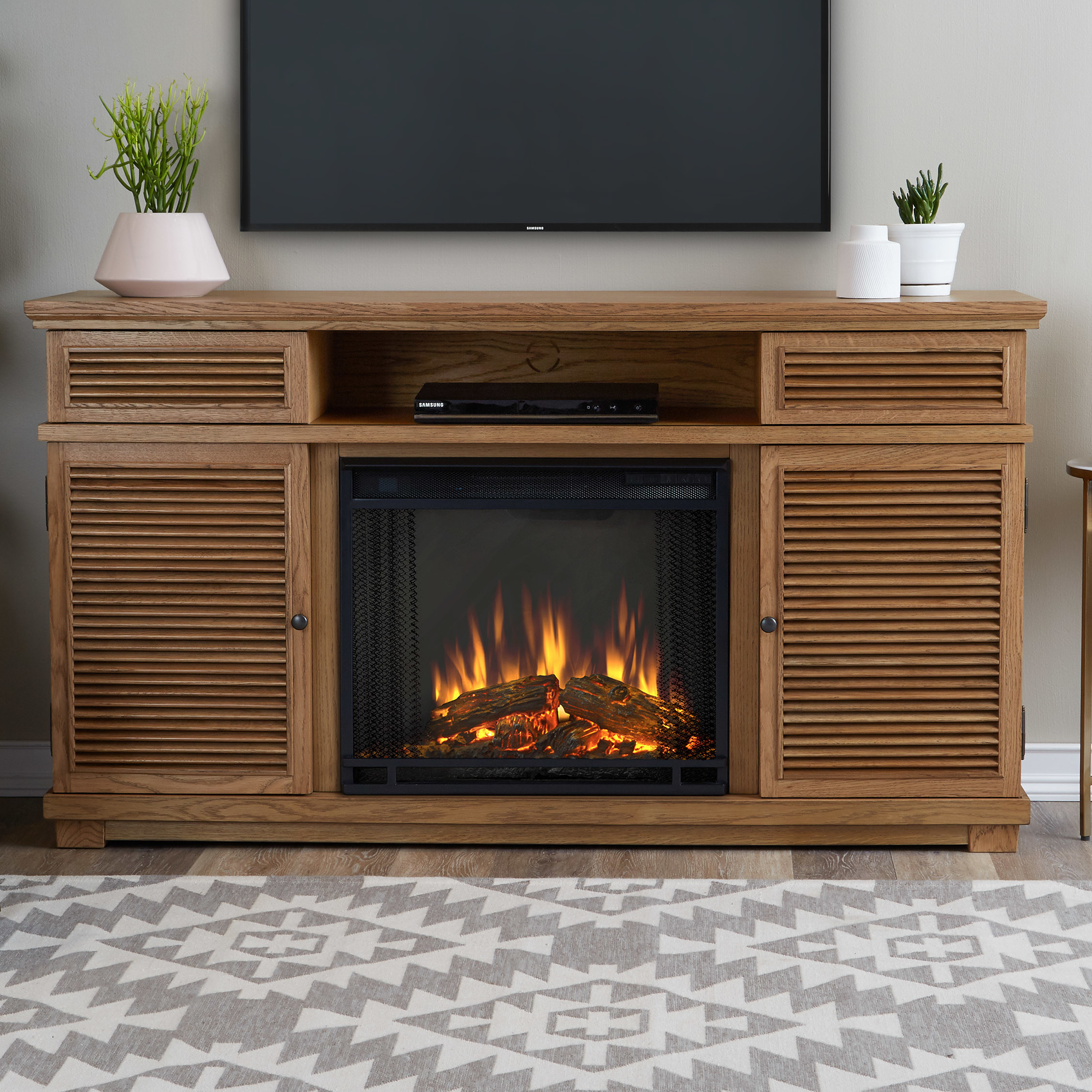 Best ideas about Real Flame Fireplace . Save or Pin Real Flame Cavallo Electric Fireplace Now.