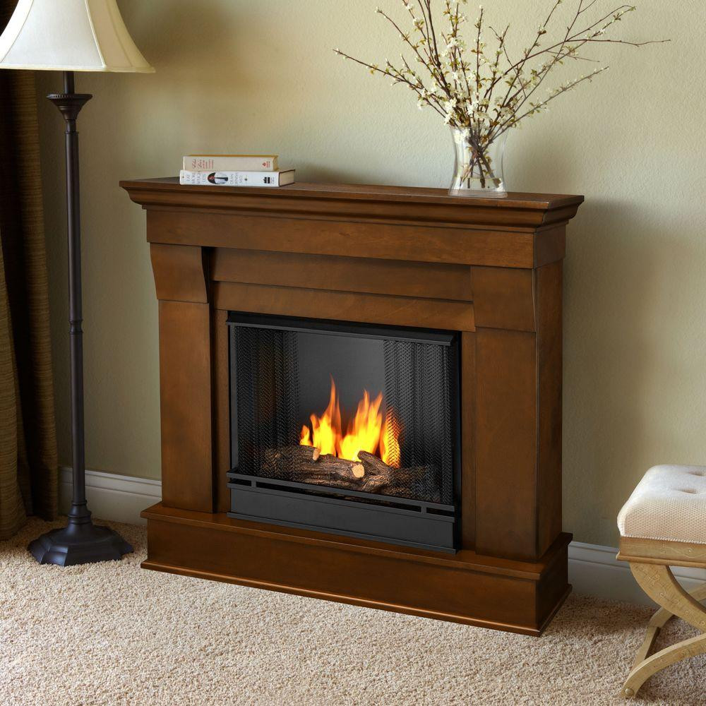 Best ideas about Real Flame Fireplace . Save or Pin Real Flame Chateau 41 in Ventless Gel Fuel Fireplace in Now.