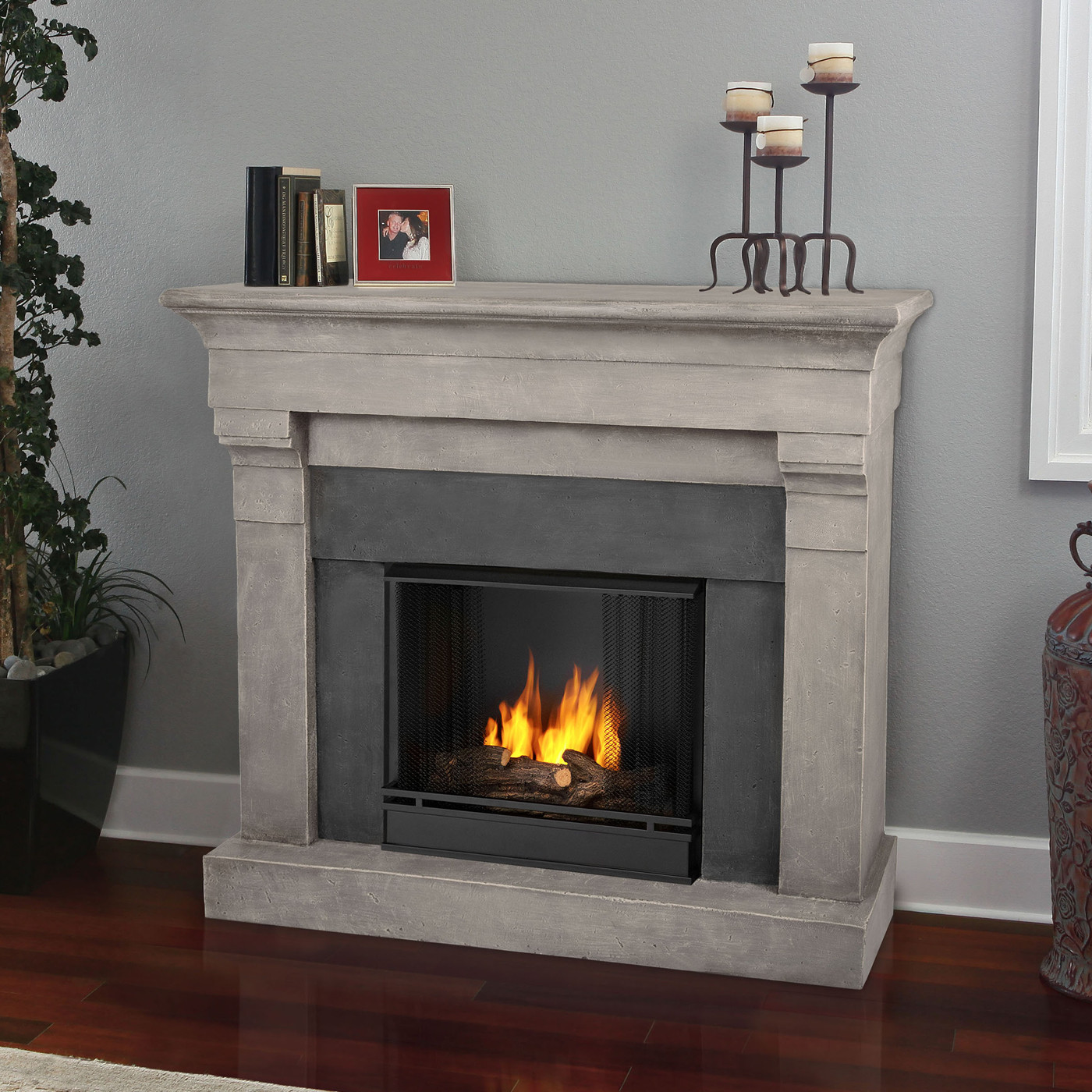 Best ideas about Real Flame Fireplace . Save or Pin Real Flame Torrence Cast Gel Fuel Fireplace Now.
